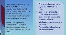 La bandera amarilla ondea este miércoles en 12 playas de Cartagena, San Javier y Lorca