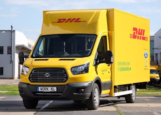 StreetScooter WORK XL de Ford y DHL