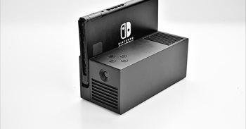 OJO, un proyector portátil para Nintendo Switch con resolución FHD