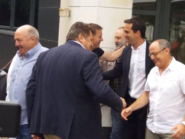 Reunión EH Bildu con empresarios hosteleros