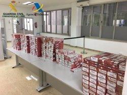 La Guàrdia Civil intervé tabac de contraban valorat en més de 18.000 euros en tres actuacions a la Farga de Moles (ACN)