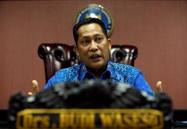 Budi Waseso, jefe de la Policía antidrogas indonesia