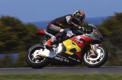 Roben la moto amb què Rabat es va proclamar campió de Moto2 el 2014 (MARC VDS RACING TEAM)