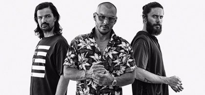 Thirty Seconds to Mars regresarán el 22 de agosto con el primer single de su quinto disco
