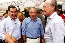 """Moreno defiende la moción de censura en Marbella para """"volver a la normalidad"""" tras dos años de """"desgobierno"""""""