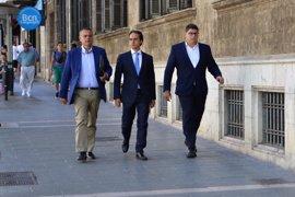 Dos testigos del caso de corrupción policial en Palma reconocen a los políticos del PP investigados