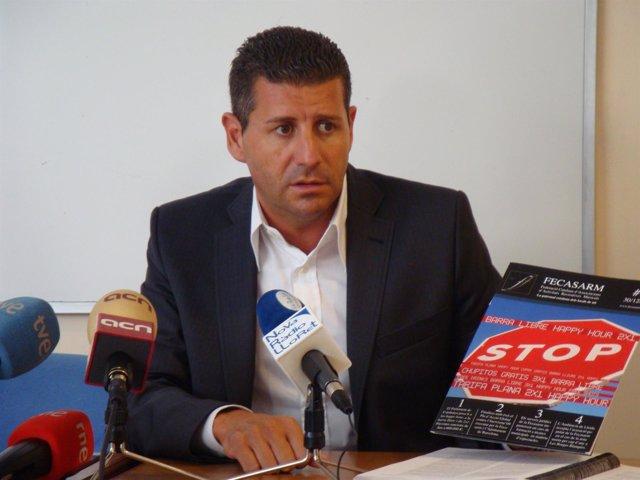 Joaquim Boadas, De La Patronal Fecasarm
