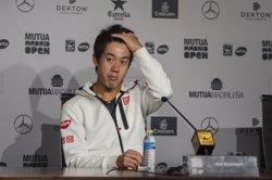 Nishikori no tornarà a jugar fins el 2018 igual que Djokovic i Wawrinka (EUROPA PRESS)