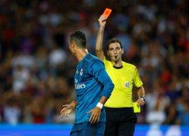 Apelación mantiene los cinco partidos de sanción a Cristiano Ronaldo