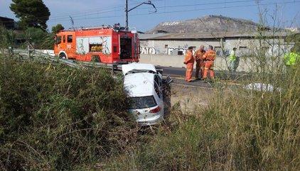 Un hombre fallece tras salirse de la calzada el vehículo en el que viajaba en la N-332, en Cullera (Valencia)