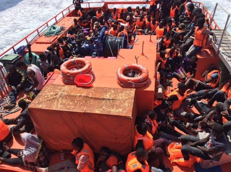 Rescatados 593 inmigrantes de 15 pateras en Andalucía en las últimas 24 horas