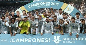 El Real Madrid barre al Barça por otra Supercopa