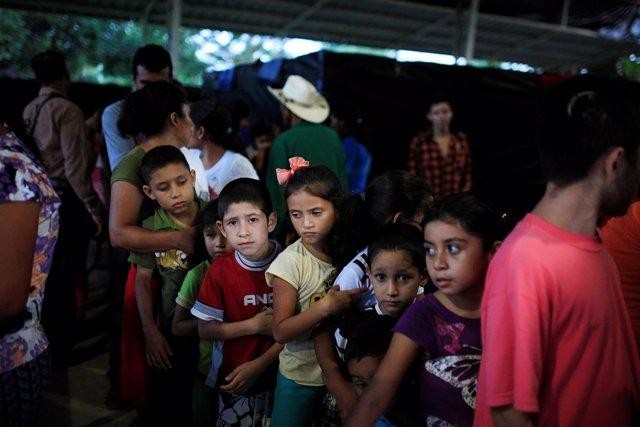 Desplazados internos en El Salvador
