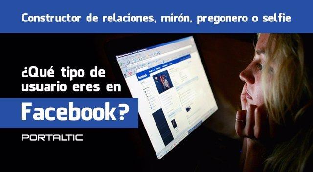 Tipos de usuarios de Fcebook