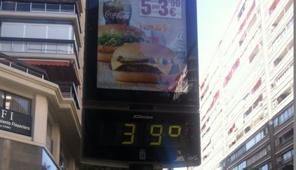 Una veintena de provincias están hoy en riesgo por el calor y se superarán los 40ºC en el valle del Guadalquivir