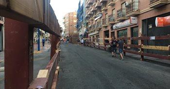 Suspendido el primer encierro de las fiestas de Leganés por problemas en el vallado del recorrido