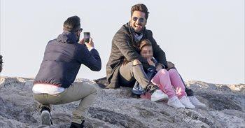 Bustamante y Paula Echevarría felicitan a su pequeña Daniella en Instagram
