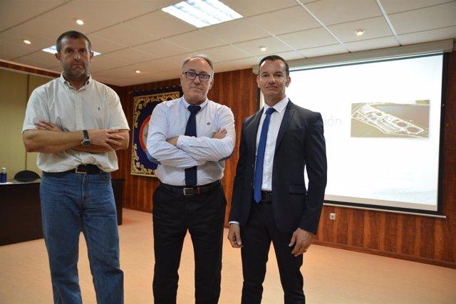 : Ángel Faz, Joaquín López-Castellanos Y Javier Bayo