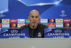 Zidane, set títols en un any i mig amb el Reial Madrid (EUROPA PRESS)
