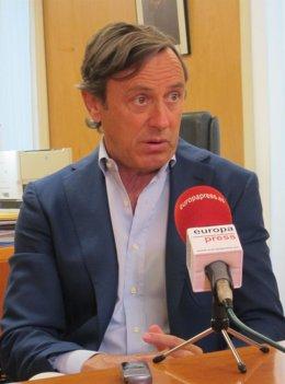 Rafael Hernando, portavoz del Grupo Popular en el Congreso