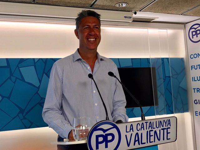 El líder del PP catalán, Xavier García Albiol.