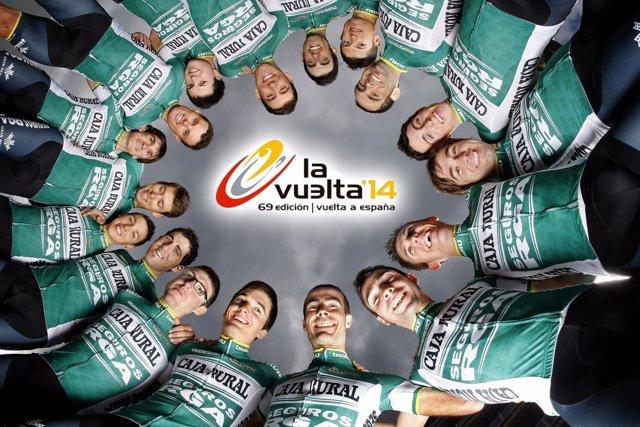 David Arroyo liderará al Caja Rural-Seguros RGA en La Vuelta
