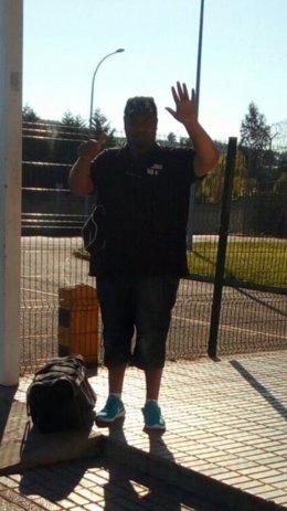 Sinaí Giménez tras salir de la cárcel
