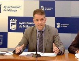 Carlos conde, portavoz del PP en Ayuntamiento de Málaga
