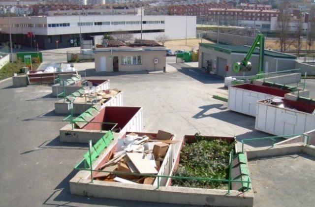 Punto de gestión de residuos de Blanes (Girona)