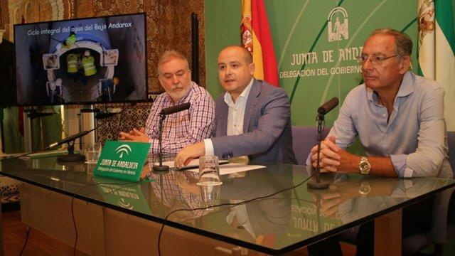 Delegado de Medio Ambiente presenta el balance de actuaciones en el Bajo Andarax