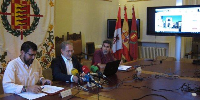 Manuel Saravia y Alberto Bustos informan sobre la participación en el PGOU