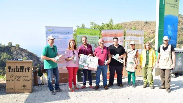 Campaña de prevención de incendios en la provincia de Granada