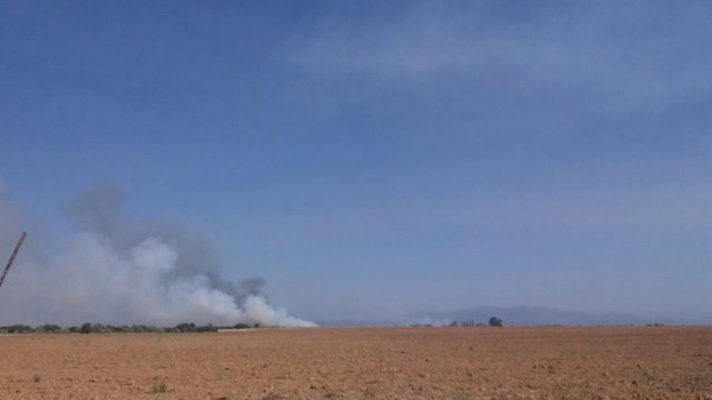 Incendio en La Pueblanueva