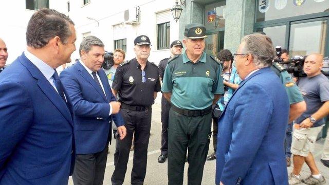 El ministro de Interior, Juan Ignacio Zoido, en un acto en Algeciras (Cádiz)