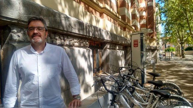 El portavoz de Ciudadanos, Julián San Martín