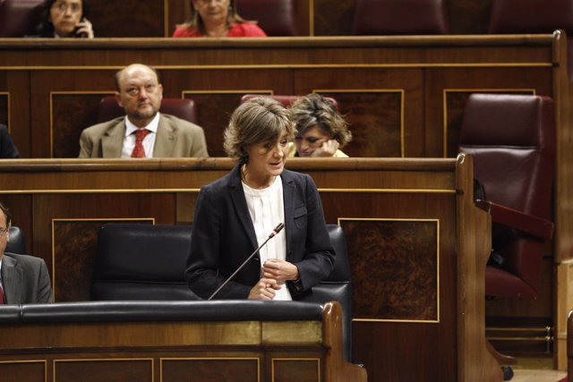 Isabel García Tejerina en el Congreso