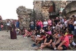 Representación en el castillo de Mirabel (Cáceres)