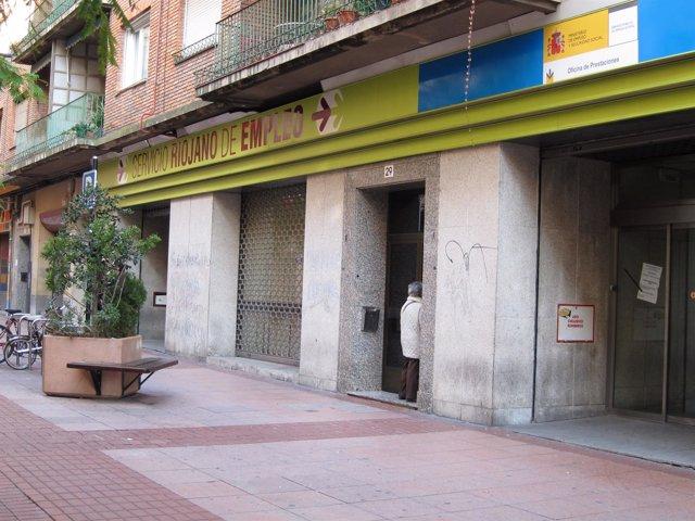 Servicio Riojano de Empleo, paro