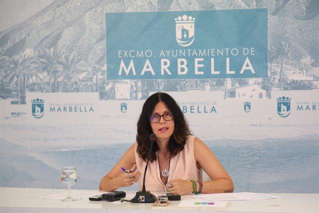 Concejal de Marbella  Isabel Pérez