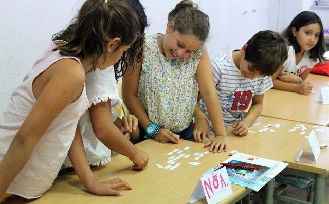 Escolares participan en los campus de verano de la ULE