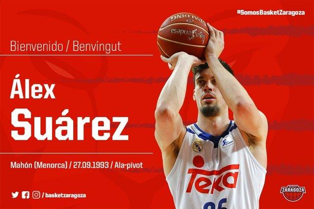 Álex Suarez llega al Tecnyconta Zaragoza