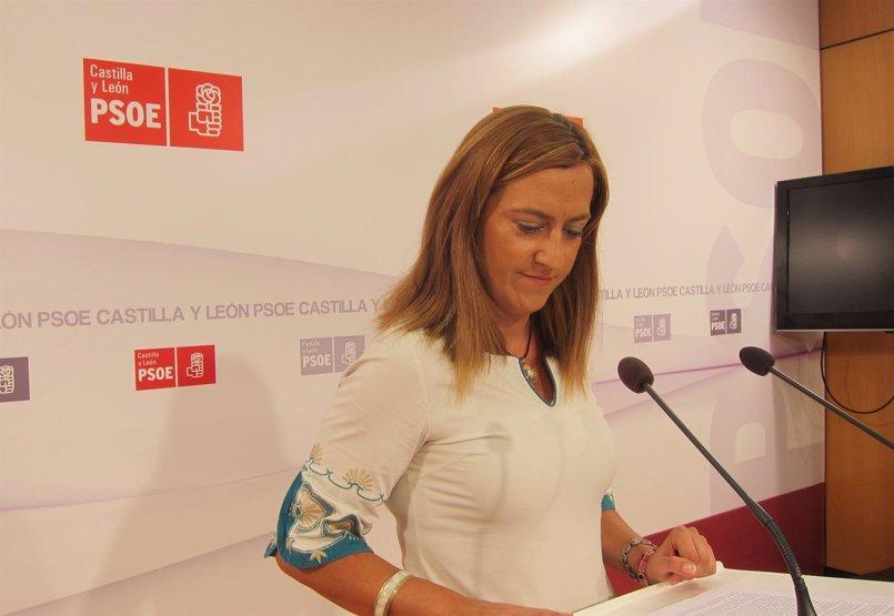 PSCyL pide que Iratxe García hable en las Cortes sobre el reto demográfico