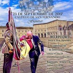 L'Exèrcit celebrarà una jura de bandera de civils a Figueres (Girona) el 23 de setembre (EJÉRCITO DE TIERRA)
