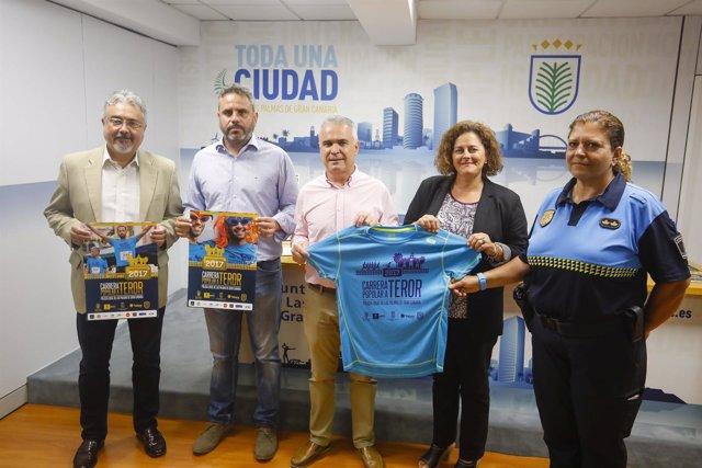 Martín Marrero, Alfredo Concálvez, Gonzalo Rosario, Eulalia Guerra