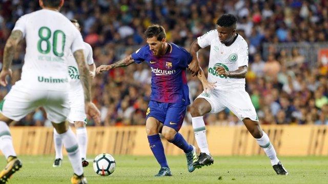 Leo Messi Barcelona Chapecoense Gamper