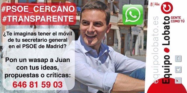 Juan Lobato contesta