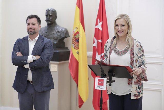 Cifuentes Se Reúne Con El Alcalde De Rivas La Presidenta De La Comunidad De Madr