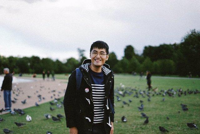 El dissident xinès Alex Chow
