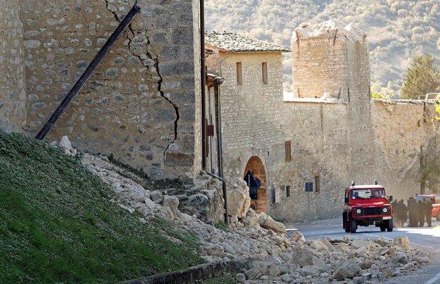 Terremoto registrado en Italia.