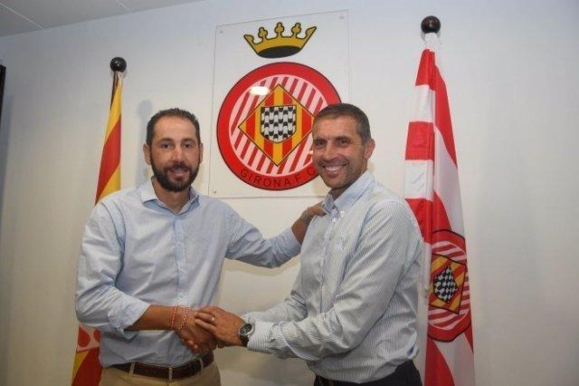 Pablo Machín renueva como entrenador del Girona
